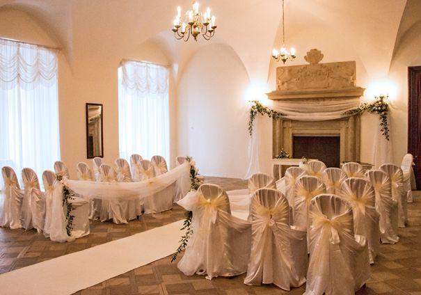 zámek račice svatby